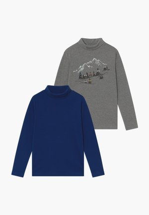 CREW NECK 2 PACK  - Longsleeve - monument