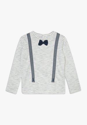 Long sleeved top - blanc de blanc