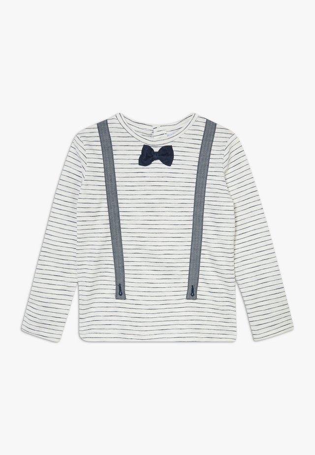 Bluzka z długim rękawem - blanc de blanc