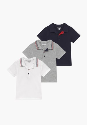 SHORT SLEEVES 3 PACK  - Polo - brilliant white