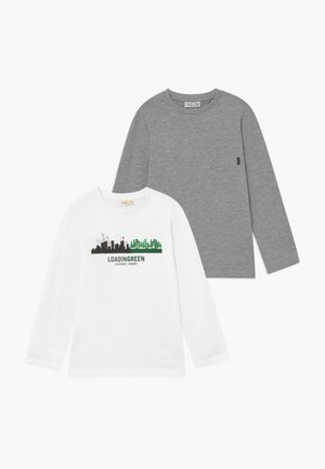 LONGSLEEVES 2 PACK - Longsleeve - brilliant white