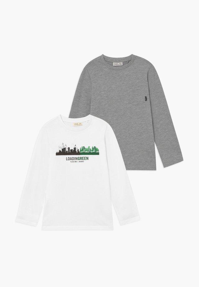 LONGSLEEVES 2 PACK - Långärmad tröja - brilliant white