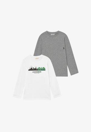 LONGSLEEVES 2 PACK - Maglietta a manica lunga - brilliant white