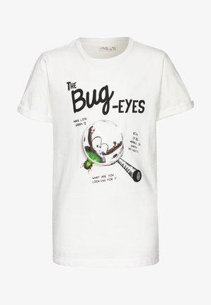 Camiseta estampada - star white