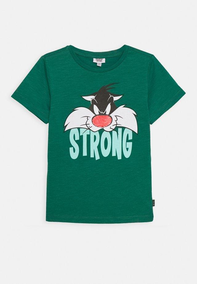 T-shirts print - antique green