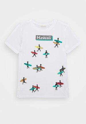 SHORT SLEEVE - T-shirts print - bright white