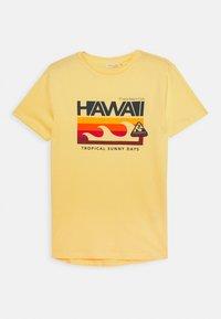 OVS - T-shirts print - lemon meringue - 0