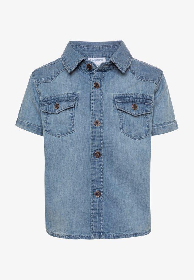 Skjorte - faded denim