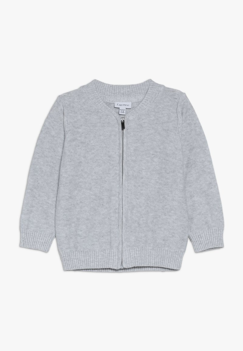 OVS - BABY FULL ZIP - Cardigan - gray dawn