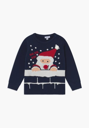 BABY ROUND NECK - Jumper - navy blue