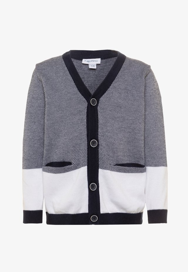 Cardigan - midnight navy