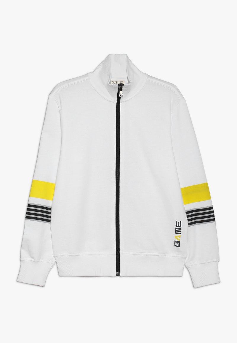 OVS - ZIP - Zip-up hoodie - vibrant yellow