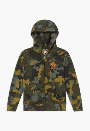 FULL ZIP - Zip-up hoodie - winter moss