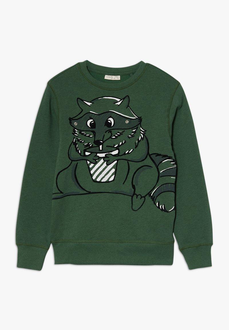 OVS - MASCHERINA - Sweater - dark green