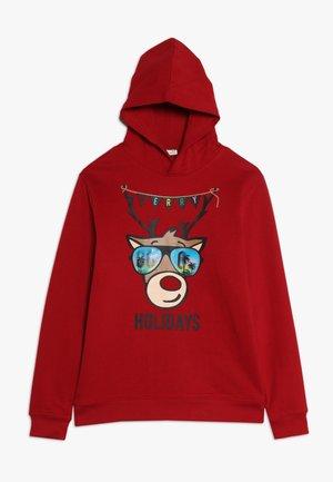 HOODY - Hoodie - scarlet