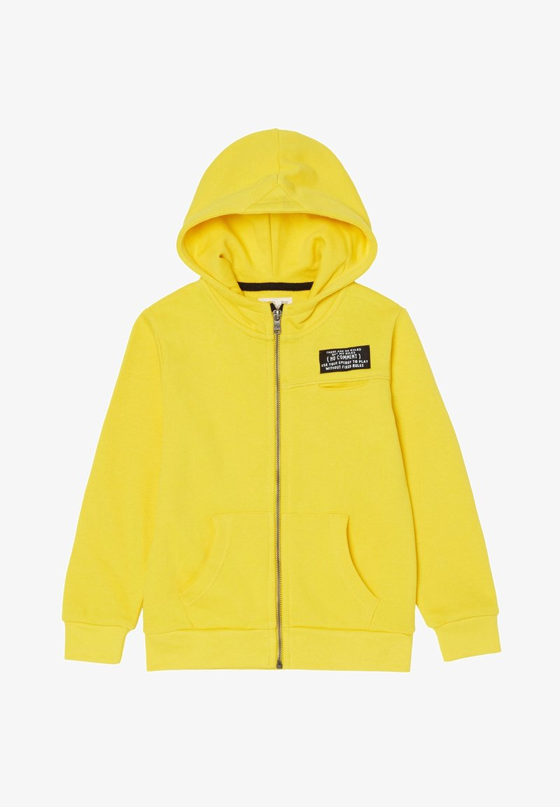 OVS - Zip-up hoodie - lemon yellow