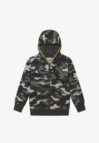 OVS - CAMO - Zip-up hoodie - phantom - 2