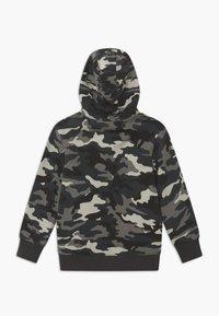 OVS - CAMO - Zip-up hoodie - phantom - 1