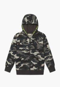 OVS - CAMO - Zip-up hoodie - phantom - 0