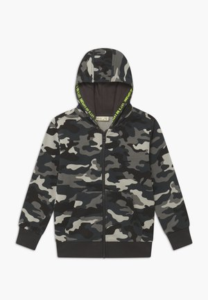 CAMO - Zip-up hoodie - phantom