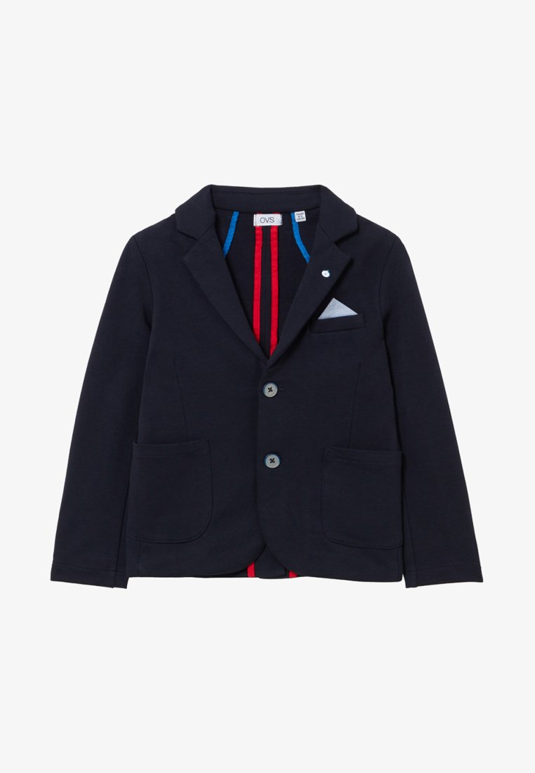OVS - WITH LAPELS AND POCKETS - Sakko - dark blue