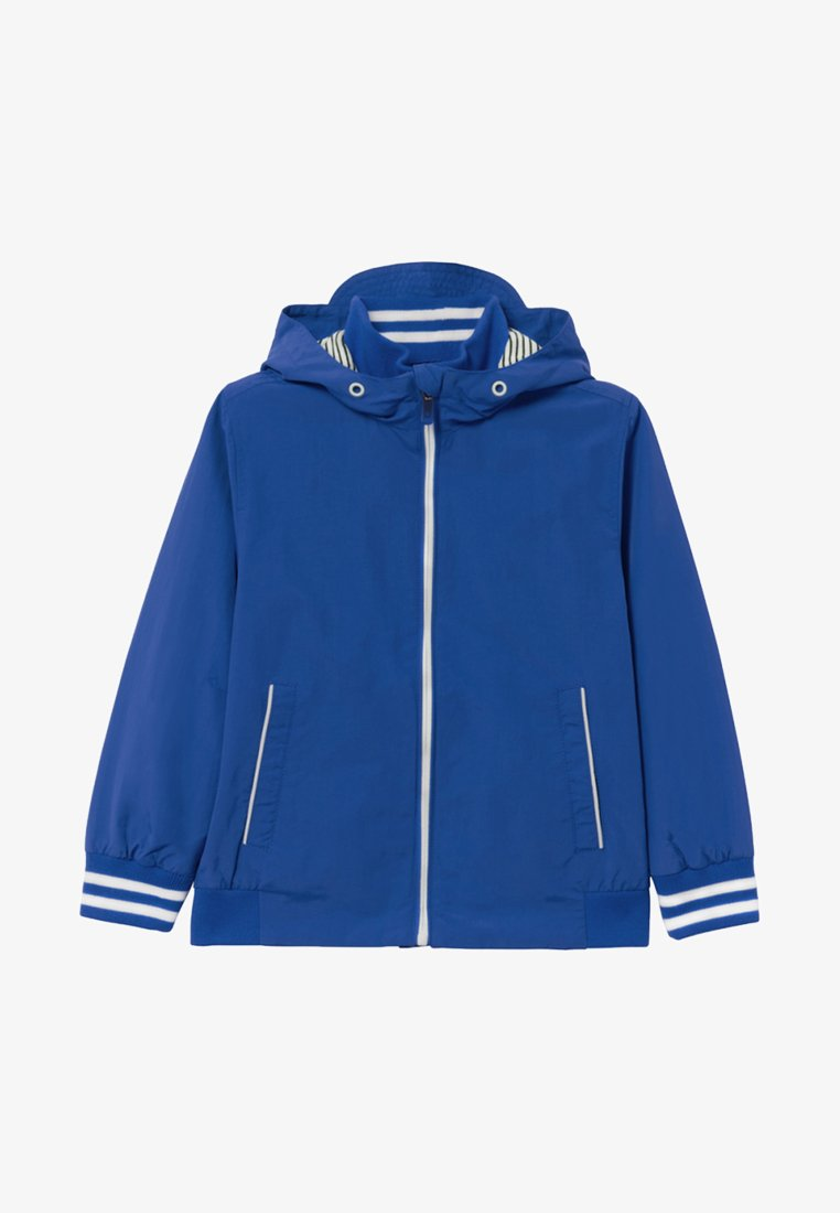 OVS - WITH STRIPED RIBBING - Übergangsjacke -  blue