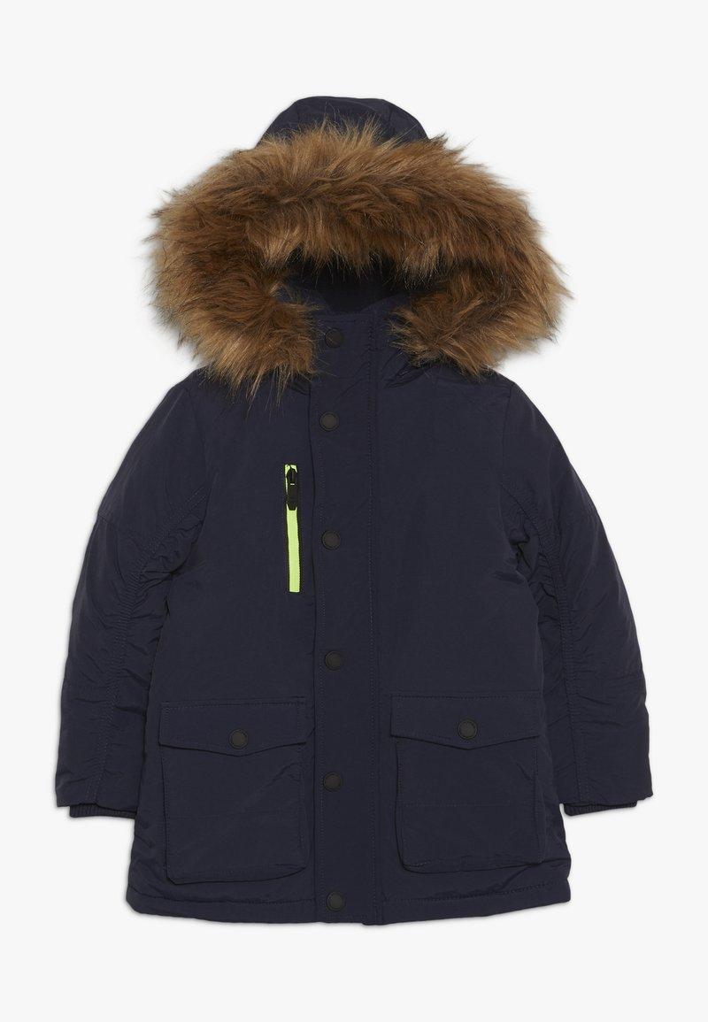 OVS - HOOD - Winter coat - navy blazer