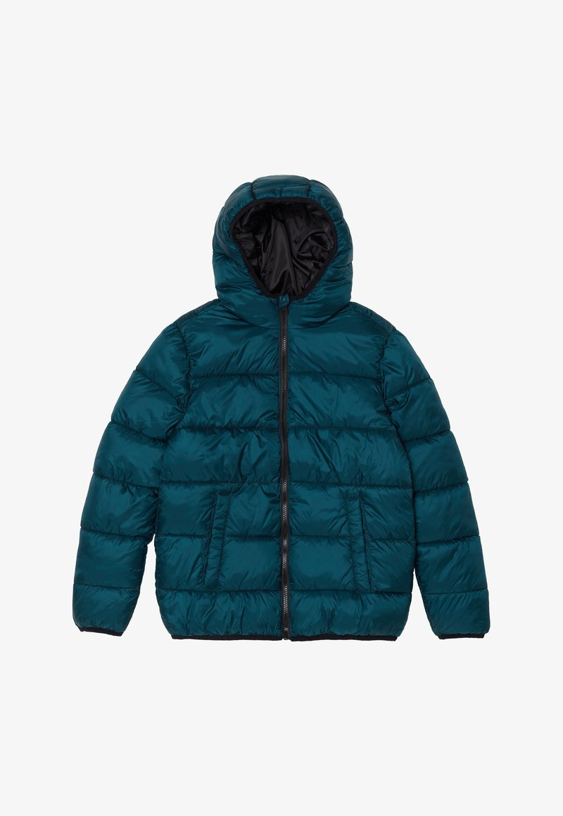 OVS - WITH HOOD AND ZIP - Chaqueta de invierno - teal green