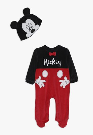 MICKEY MOUSE BABY ROMPER HAT SET - Body - meteorite