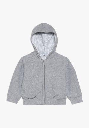 BABY CARDIGAN TRICOT - Gilet - dark grey melange