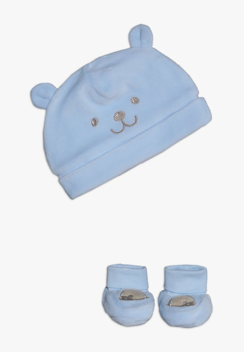 OVS - BABY HAT SHOES SET - Mössa - dream blue