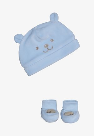 BABY HAT SHOES SET - Čepice - dream blue