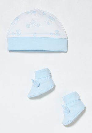HAT SHOES SET - Beanie - dream blue