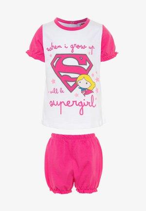 SUPERGIRL - Pijama - sachet pink