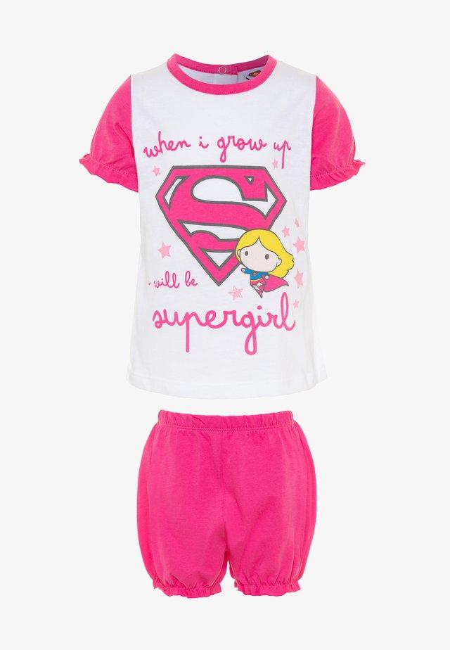 SUPERGIRL - Pyjama - sachet pink