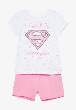SUPERGIRL SET - Pyžamová sada - blushing bride