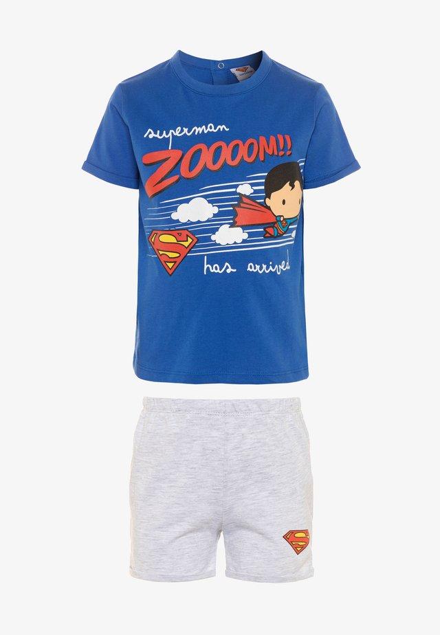 SUPERMAN - Nachtwäsche Set - royal blue