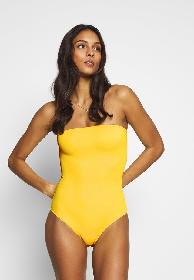 BARBADOS SWIMSUIT - Baddräkt - yellow