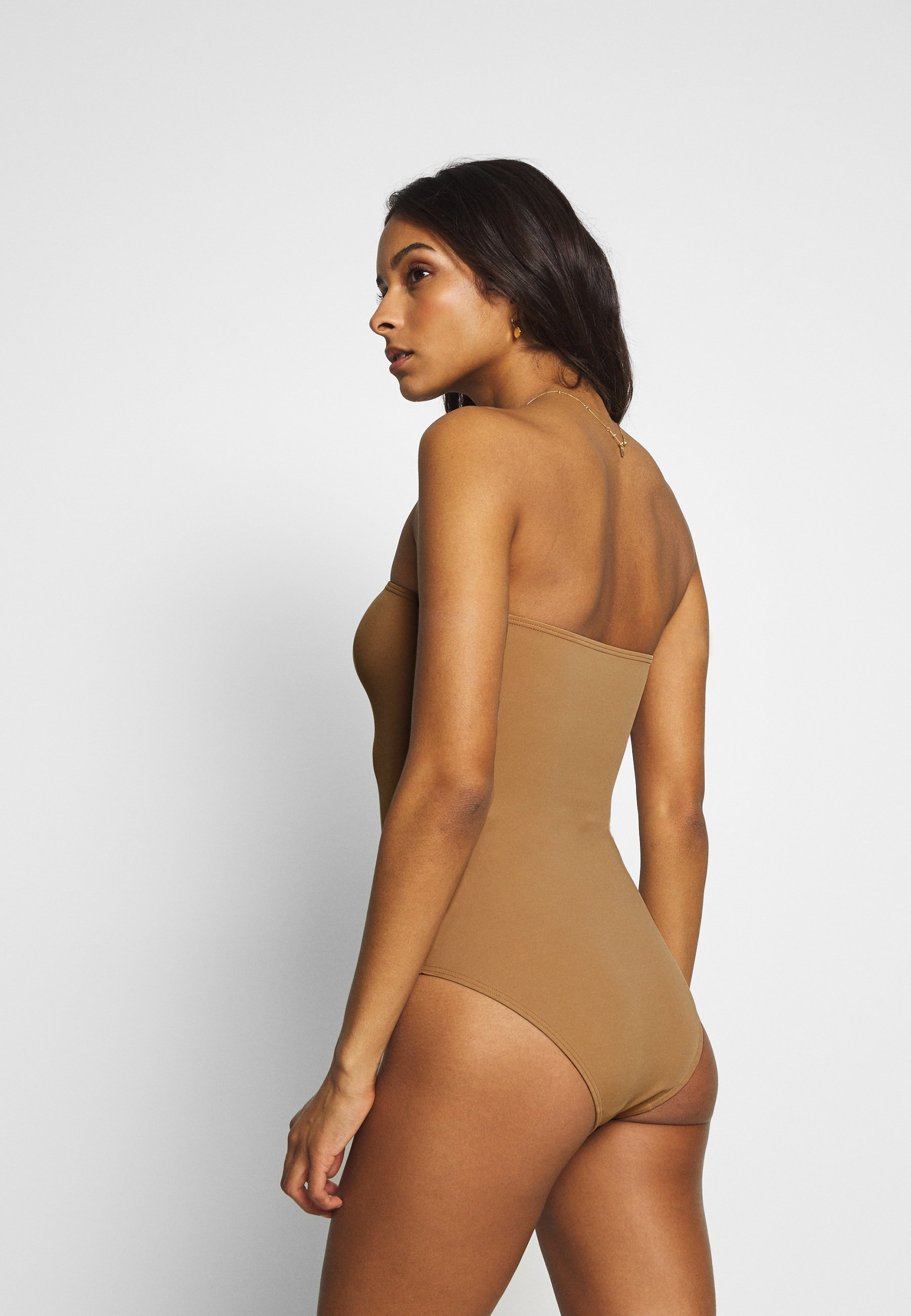 Ow Intimates Barbados Swimsuit - Badpak Tobacco Brown fZAgkmB