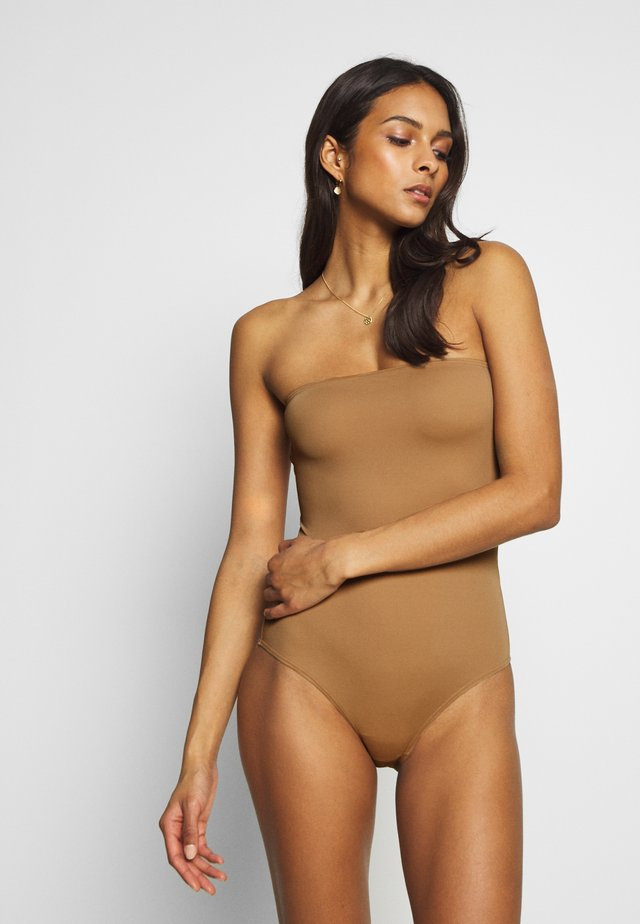 BARBADOS SWIMSUIT - Baddräkt - tobacco brown