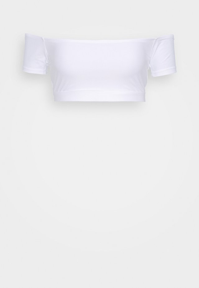 SANTORINI - Bikinitoppe - white