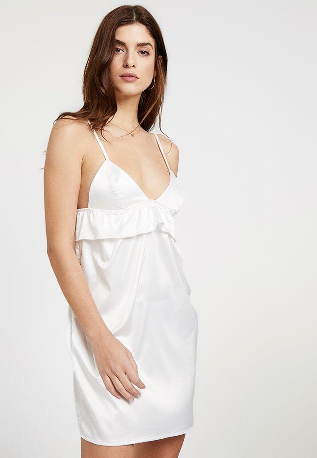 NIGHTWEAR DRESS - Nightie - white