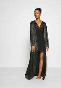 OW Intimates - KATRINA KIMONO - Dressing gown - black - 1