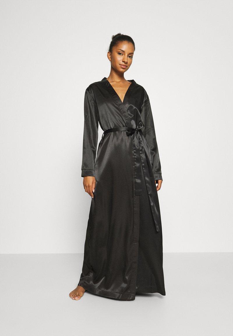 OW Intimates - KATRINA KIMONO - Dressing gown - black