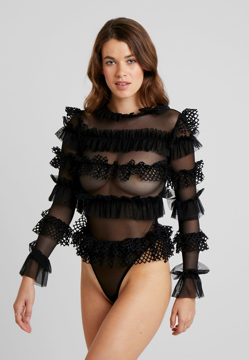 OW Intimates - GRACE BODYSUIT - Body - black caviar