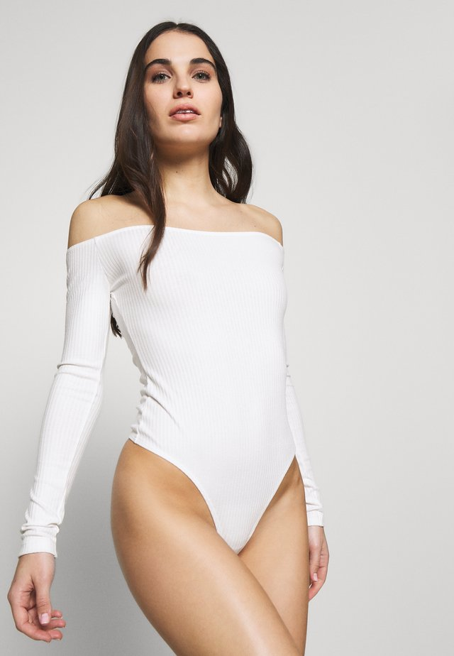 GERDA BODYSUIT - Body - white