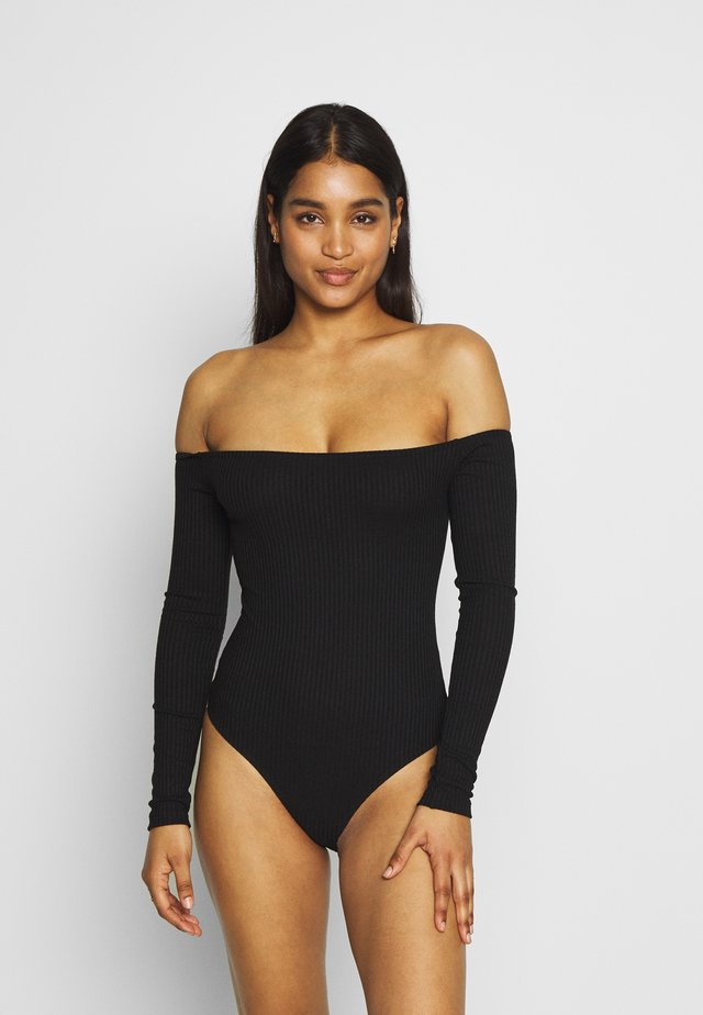 GERDA BODYSUIT - Body - black