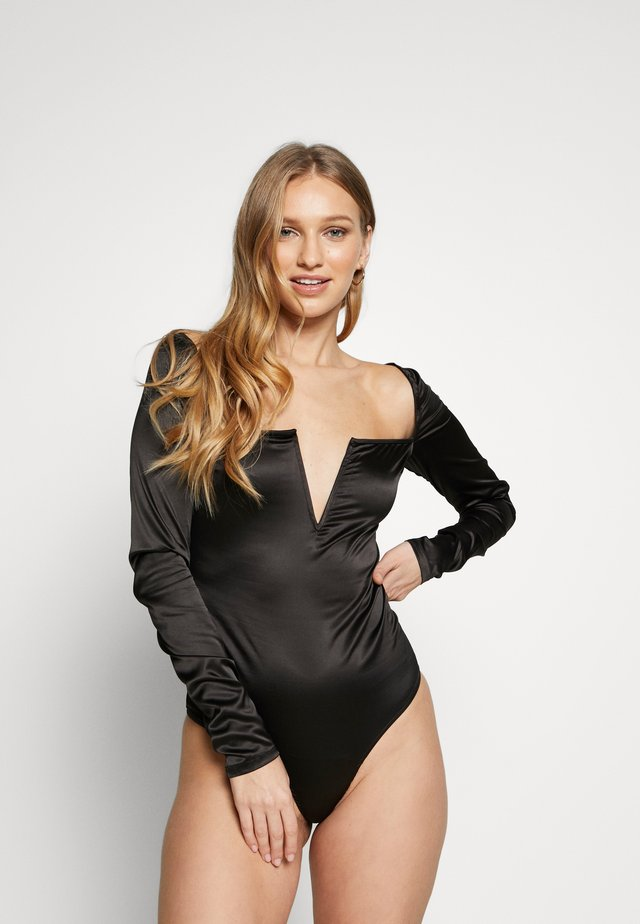 ELENOR BODYSUIT - Body - black