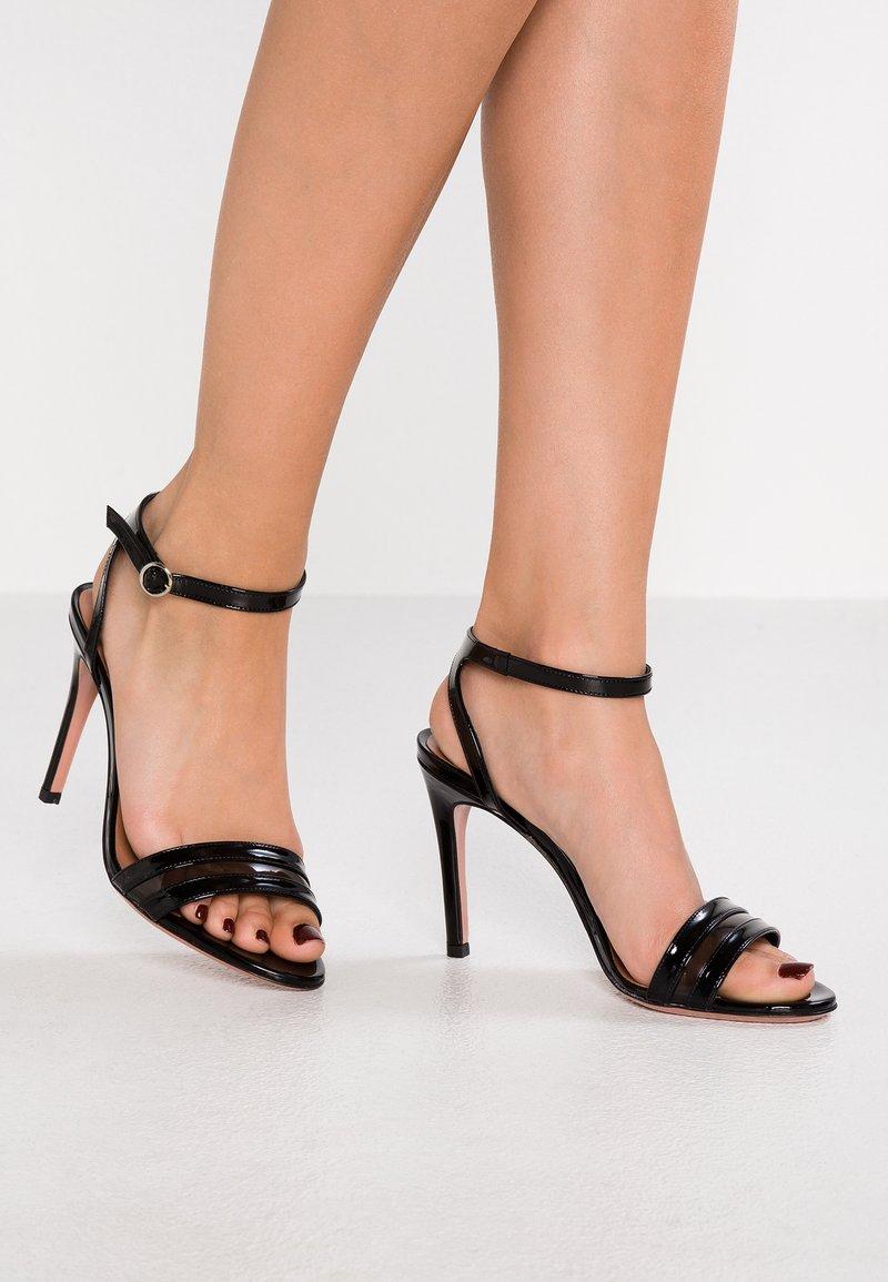 Oxitaly - SUDA - High heeled sandals - nero