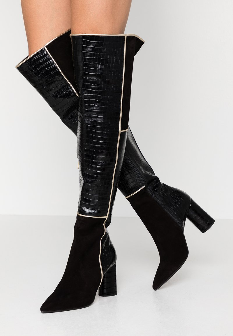 Oxitaly - SALOME - Over-the-knee boots - nero